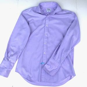 T.M.LEWIN button down slim fit French cuff